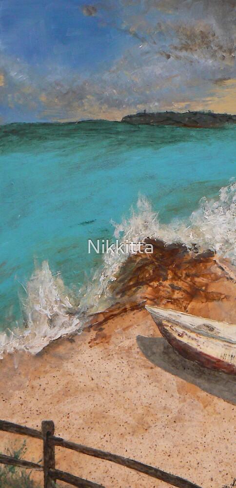 Resting on Sand by Nikkitta