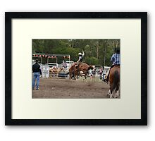 Picton Rodeo BRONC14 Framed Print