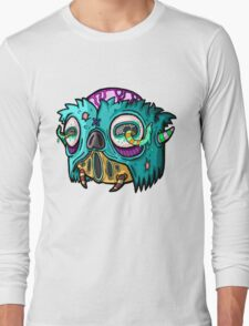Carnihell #12 Monster head Long Sleeve T-Shirt