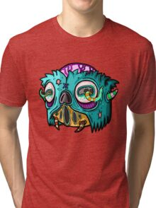 Carnihell #12 Monster head Tri-blend T-Shirt
