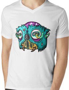 Carnihell #12 Monster head Mens V-Neck T-Shirt