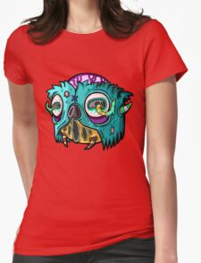 Carnihell #12 Monster head Womens Fitted T-Shirt