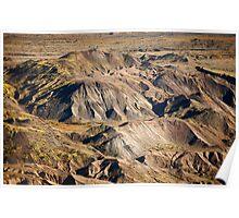 Mount St. Hellens Landscapes Study Poster