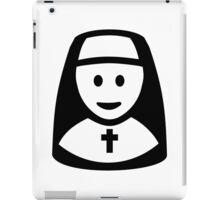 Nun head iPad Case/Skin