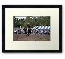 Picton Rodeo BULL3 Framed Print
