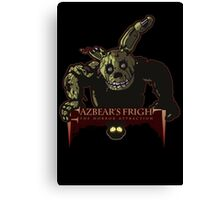 Fazbear's Fright: The Horror Attraction Canvas Print
