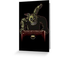 Fazbear's Fright: The Horror Attraction Greeting Card