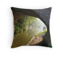 canal hatton coventry  Throw Pillow