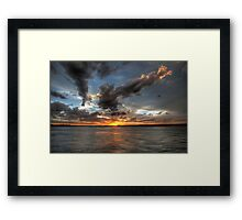 Noosa Sunset Framed Print