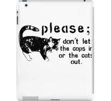 Cops&Cats iPad Case/Skin