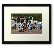 Picton Rodeo ROPE7 Framed Print