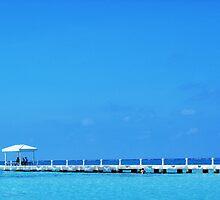pier cayman islands caribbean  by Michael Bisset