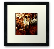 Kelly Hill Caves Framed Print