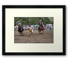 Picton Rodeo ROPE10 Framed Print