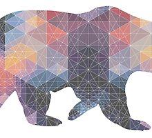 Geometric Bear by StephenWojtila