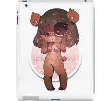 KAWAII chocovii Furry Chibi Mascot iPad Case/Skin