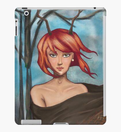 Horn Girl iPad Case/Skin