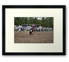 Picton Rodeo ROPE14 Framed Print