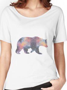 Geometric Bear Women's Relaxed Fit T-Shirt