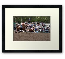 Picton Rodeo ROPE17 Framed Print