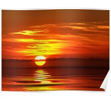 """Simply Sunrise"" Poster"