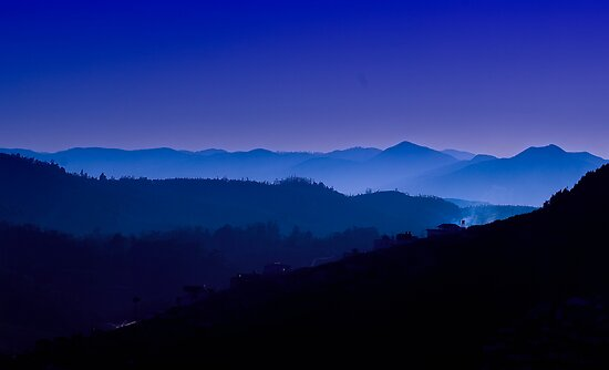 The Nilgiris (Blue Mountains) by Vikram Franklin