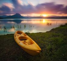 Lake Moograh Sunsets by McguiganVisuals