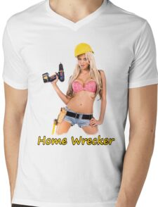 Home Wrecker Mens V-Neck T-Shirt