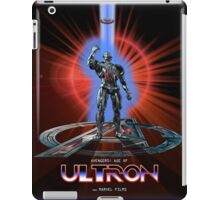 Avengers: Age of ULTRON (TRON Poster) iPad Case/Skin