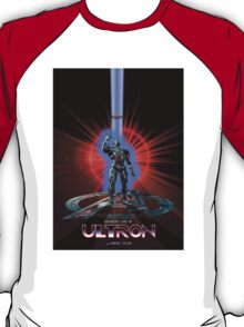 Avengers: Age of ULTRON (TRON Poster) T-Shirt