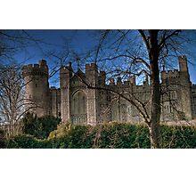 Arundel Castle - South View Photographic Print