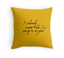 Harry Potter - Mischief Managed Throw Pillow