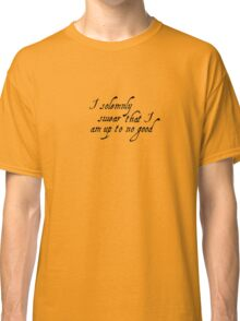 Harry Potter - Mischief Managed Classic T-Shirt