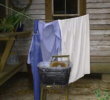 Wash Day by Judy Gayle Waller
