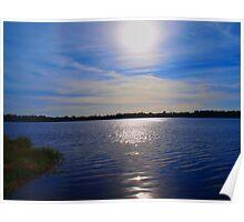 Sunrise on Lake Jeffords Poster