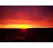 Robben Island by Night Photographic Print