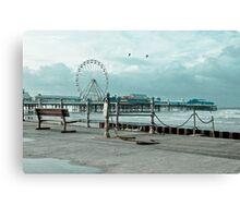 Pier-ing Canvas Print