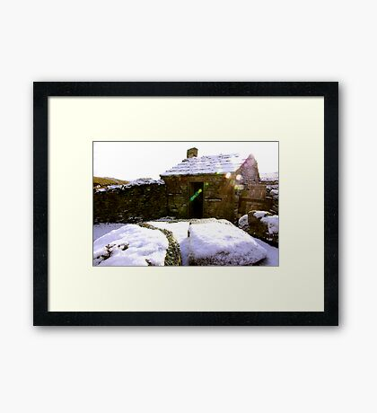 Old Cottage Framed Print
