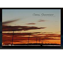 Oakey Traffic Dusk © Vicki Ferrari Photographic Print