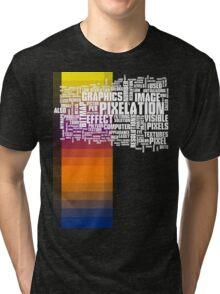 pixelate Tri-blend T-Shirt