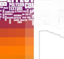 pixelate Sticker