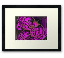 When it comes to pink. Framed Print