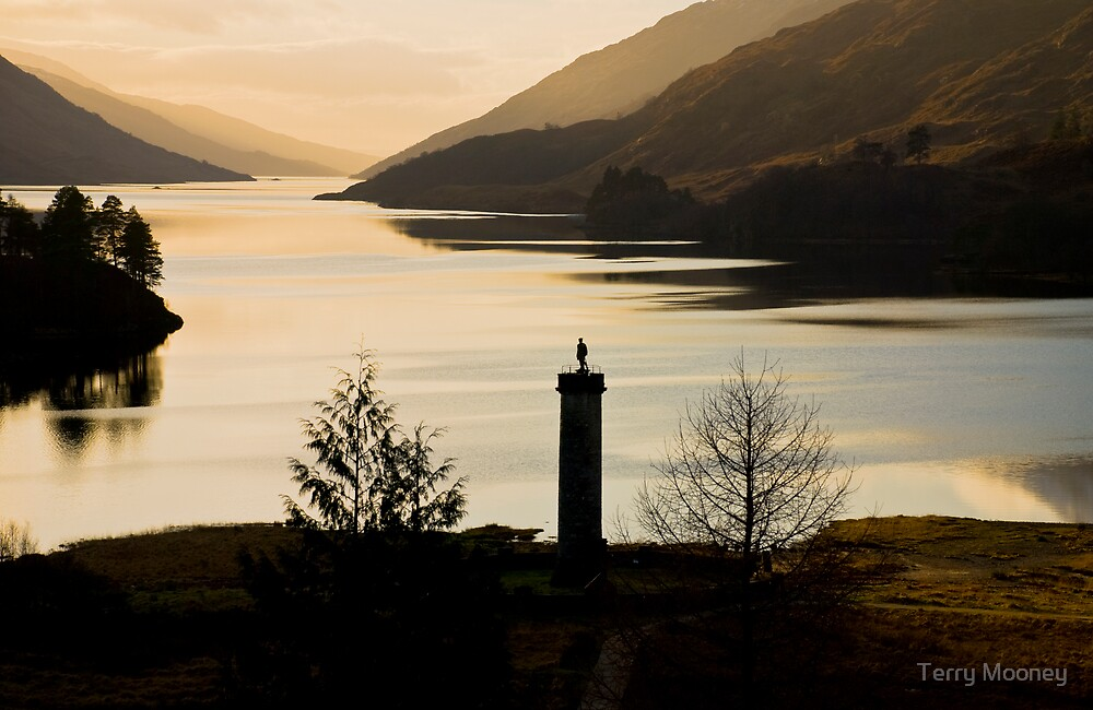 Glenfinnan Monument by Terry Mooney