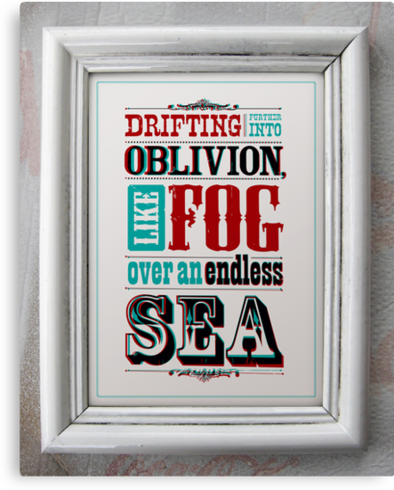 DRIFTING FURTHER INTO OBLIVION,... by Steve Leadbeater