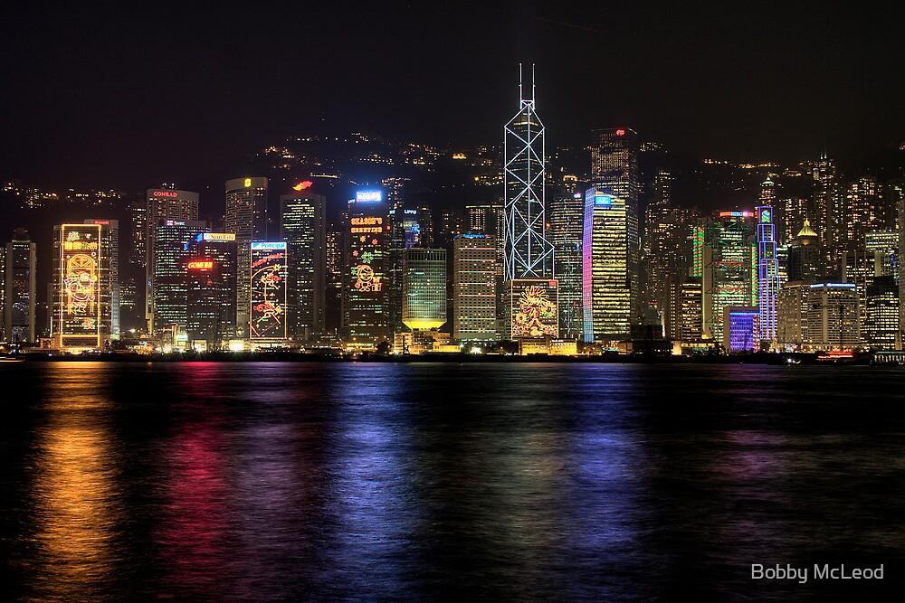 Hong Kong Reflection by Bobby McLeod