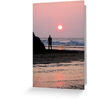 MEMORIES OF A SUMMER SUNSET Greeting Card