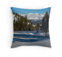 Truckee California golf course Throw Pillow