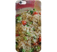 Quinoa Salad iPhone Case/Skin
