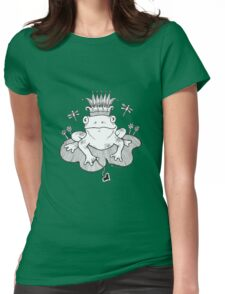 Frog Prince Tee Womens Fitted T-Shirt