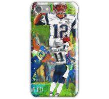 New England Patriots Win Super Bowl XLIX  iPhone Case/Skin